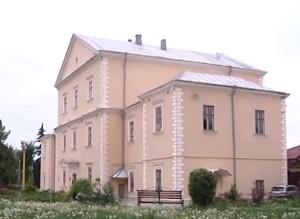 Вид на замковий палац збоку