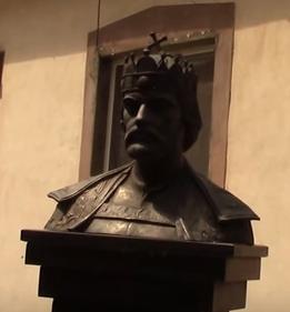Пам'ятник святому Іштвану в Берегово