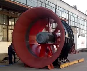 Промисловий вентилятор великих розмірів