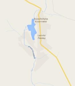 Карта Ланівців