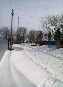 Ланівці взимку