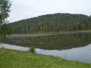 Озеро біля Ридомля