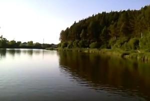 Озеро у Шумську неподалік від Рохманова