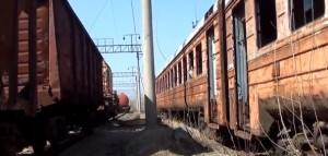 Покинуті поїзда у Прип'яті нагадують про Чорнобильску катастрофу