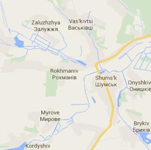 Село Рохманів та околиці