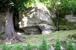 Скелі поблизу Більче-Золотого