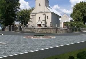 Успенський греко-католицький храм у Білках 18 століття