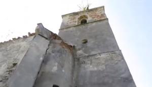 Башта костелу у Соколівці