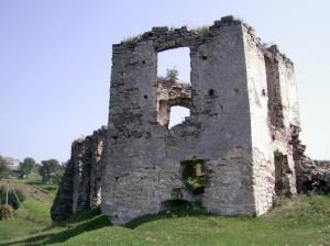 Башта замку у Підзамочку, до якої прибудований замковий палац