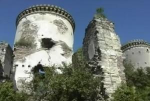 Червоноградський замок біля Заліщиків