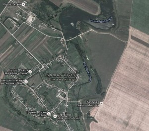 Карта Шманьківців