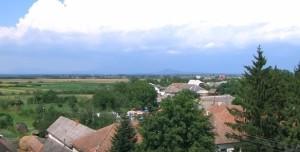 Краєвиди Берегівського району - низовина і гори на горизонті