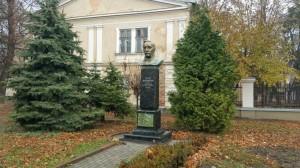 Пам'ятник Петру Прокоповичу, придумав рамковий вулик