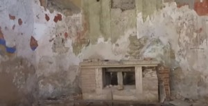 Престіл всередині соколівського костелу