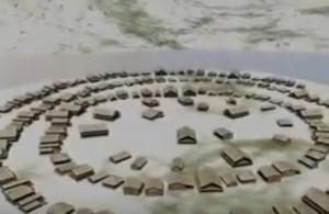 Реконструкція трипільського поселення