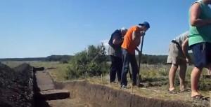 Розкопки скіфського городища