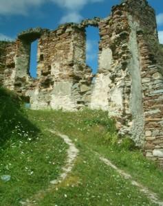 Руїни палацу у Підзамочку