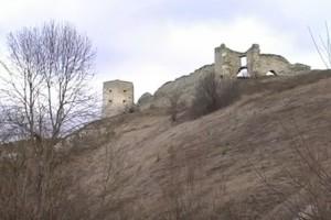 Руїни замку у Кудринцях