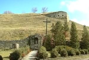 Руїни замку у Зінькові