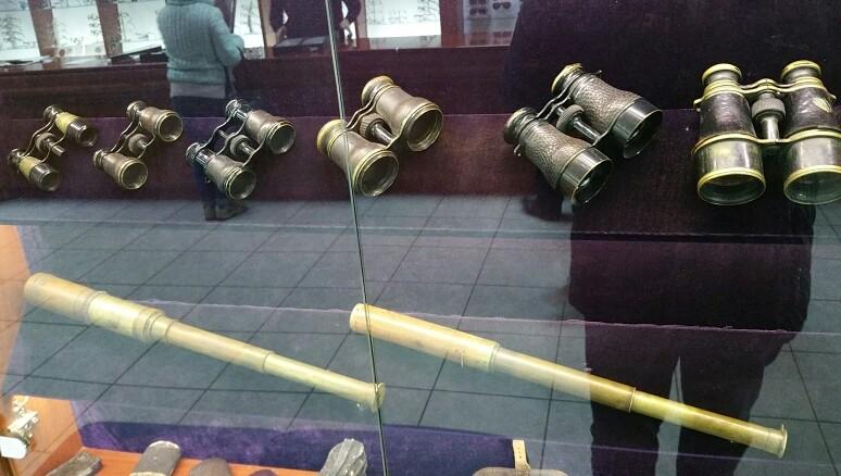 Старовинні підзорні труби