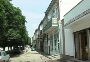 Центральна частина Заліщиків забудована австрійськими будиночками