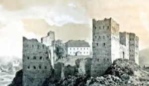 Таким Зіньківський замок був ще у ХІХ столітті