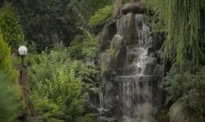 В парке Адамовка - фонтаны, скульптуры и даже зоопарк