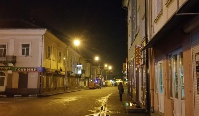 Вуличка в бік базару Пятачок