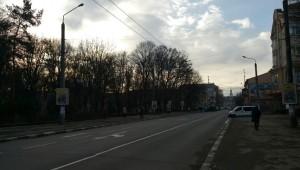 Вулиця Галицька в Івано-Франківську і станіславська ратуша