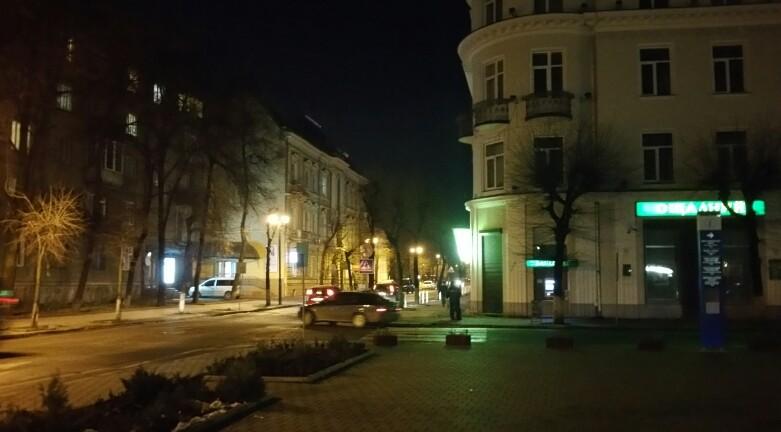 Вулиця Грушевського в сторону Стометрівки