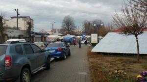 Вулиця Шпитальна і базар