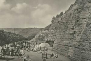 Заліщицький пляж на початку ХХ століття