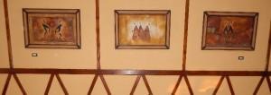 Африканські картини в єгипетському готелі