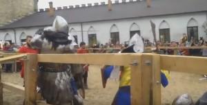 Битва лицарів у фортеці Меджибожа