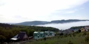 Дачне поселення над Дністром в селі Калюс