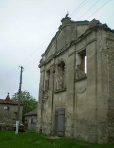 Костел, в якому оборонялися барські конфедерати