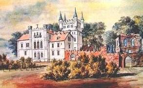 Наполеон Орда - палац у Білокриниці та руїни замку