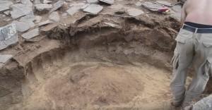 Розкопки заглибленого житла