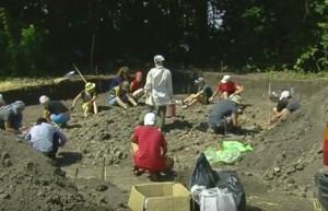 Студенти на археологічній практиці