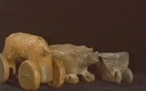 Трипільська модель воза і саней