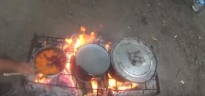 Типова кухня на археологічній практиці