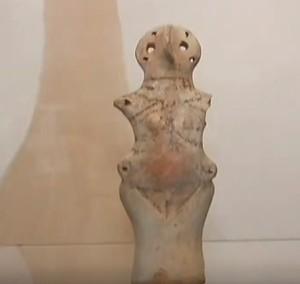 Енеолітична статуетка трипільської культури