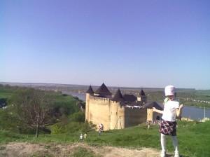Хотинська фортеця на Дністрі