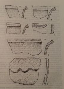 Керамічні матеріали з поселення Страдч 1
