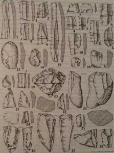 Крем'яні матеріали з поселення Раделичі - 4