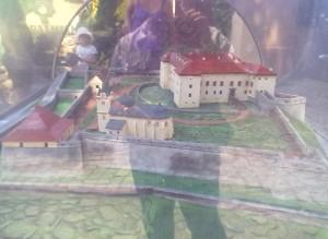 Макет ужгородського замку