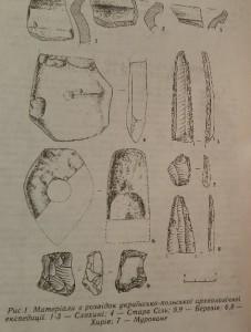 Матеріали з розвідок українсько-польської археологічної експедиції