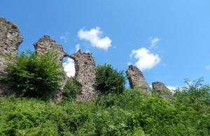 Мури хустського замку