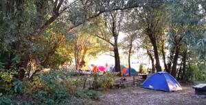 Наметовий табір у Бакоті