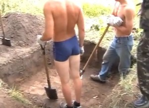Невеликий розвідувальни археологічни розкоп